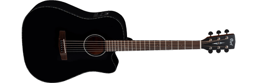 CORT MR-NE Dreadnaught Cutaway satin black