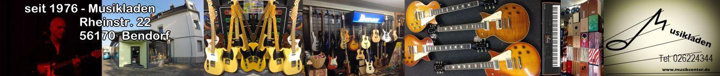 Musikladen Bendorf seit 1976 Partner in Sachen Musik
